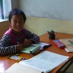 Ten year old Liang Hong Jiao wants to be an English teacher when she grows up.