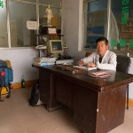 This doctor practiced both Western and Chinese medicine, and let us stay at his office for the night. That saved us from spending the night in a sandstorm.