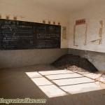 An abandoned school.