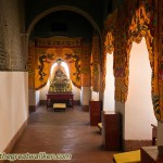 I found this Temple in the first floor of a large restored watchtower by Hequ.