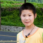 This young boy spoke very good English, and struck up a conversation.