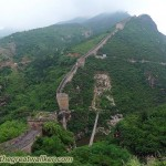The Great Wall on the Western side of Simatai.